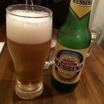 ピッツェリア ドゥエセッテ - イタリアビールで乾杯♫