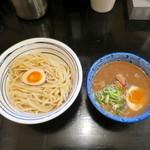 辰や - 旨カラつけ麺+味玉