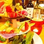 バーニャカウダ風 ディップスタイルサラダ