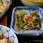 三四郎 - 白魚のサラダ