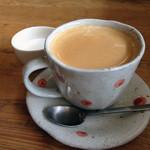ロッタカフェ - ホットのカフェラテ480円