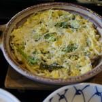 三四郎 - 白魚の玉子とじ