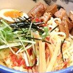 AFURI - <'14/02/18 撮影>つけ麺(並盛)辛露 930円 のつけ麺