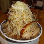 常勝軒 - 角ふじ麺(700円)+野菜マシ