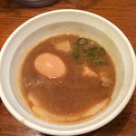 つけ麺 津気屋 - 特製つけ麺のつけ汁(*^^*)