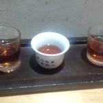 一品菜酒家 侠竹林 - 紹興酒聞き酒セット