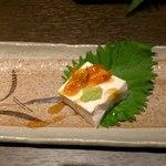25405741 - 桜エビ豆腐