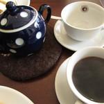 カフェ コハナ - 紅茶、コーヒー