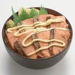 丼ぶりこ - 炙りサーモン丼
