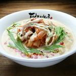 花さんしょう - 期間限定メニュー 鶏キムチ豆乳担担麺