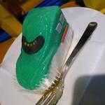 プラたく - 新幹線ケーキ(E5系はやぶさ)