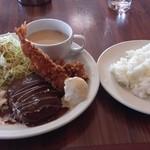 サンズガーデンカフェ - 料理写真:日替りランチ