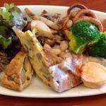 パルコデッラパーチェ - 前菜盛り合わせ
