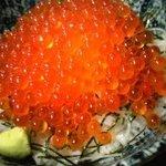 磯一 - イクラ丼  かなりのボリュームプチプチの食感をお楽しみ下さい