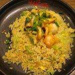 MADE IN JAPAN かにチャーハンの店 - ・終了「えびの中華マヨネーズ和えチャーハン 単品(\580)」
