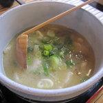 いろり茶屋 織田瓜 - 料理写真:だんご汁630円