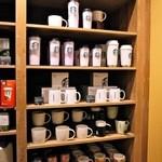 スターバックス・コーヒー - 棚