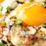 糀Cafe Izakaya Suiren - チーズつくねハンバーグ