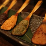 穂のか - 料理写真:30種の味噌からお好きな物を三種・五種お選びいただけます