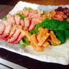 永同園 - 料理写真:和牛盛りです!カルビ、牛タン、ミノが入ってます!
