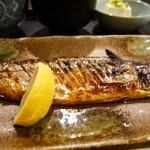 25415047 - 鯖の塩焼き定食 950円。