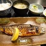 25415049 - 鯖の塩焼き定食 950円。