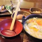湖波 - 料理写真:ほうとうやまめセット