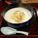 ひまわり - カルボナーラ風ラーメン 800円