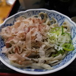 道関そば屋 - 料理写真:おろし蕎麦は単品で450円