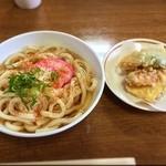 大平山荘 - 料理写真:天麩羅うどん