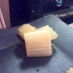 寿司処 しん - セロリのガリ