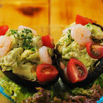 海老とアボカドのサラダ