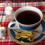 ひよっ子 - 日替わり定食のドリンク(ホットコーヒー)