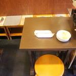 大衆すし居酒 穴場 - お一人様も大歓迎!テーブル席の他カウンター席も穂用意しております。