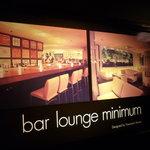 Bar&Dining minimum - ☆入口に中の様子が分かる看板がありましたぁ◎☆