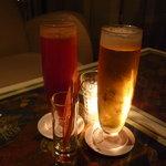 北新地 ミニマム - ☆レッドアイ&シャンディーガフで乾杯です(≧▽≦)~❤☆