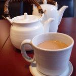 鞍馬サンド - 2杯分のカフェオレが楽しめる♪