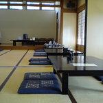 和食 古宮 - 店内はお座敷です