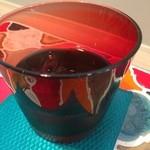 カフェ irodori - 水グラスもしゃれています。