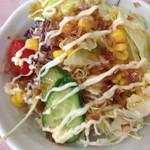 カレーハウス十八番館 - 料理写真:サラダ