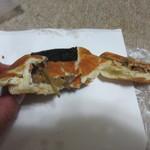 舞福 - おにぎりパンキンピラ180円。米粉パンなんでまさにキンピラゴボウをおにぎり感覚で食べれます。
