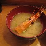 神田江戸ッ子寿司 - 味噌汁