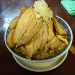 匠神 角ふじ 柏店 - ふじ麺680円+バカブタ300円