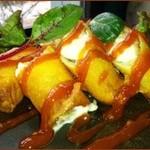 ふゅーちゃ - 豚肉とモッツァレラチーズの春巻 ¥700