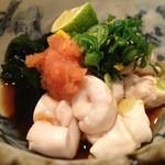 神戸料理道場 雄司 - タイの白子