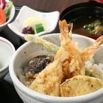 銀座むらき - 天丼1,000円