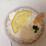 プティ・クリフ - レモンレアチーズケーキ