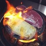 大阪食酒 リエカオ - 料理写真:河内鴨のロースのタタキ!!ツムラ本店の鴨だから出来るんです!!
