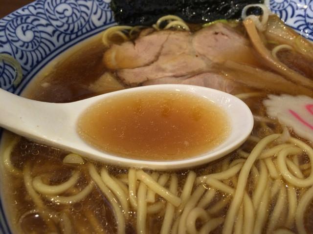 中華そば ふうみどう - スープ