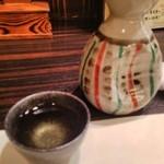 徳島魚一番 新 - 旭若松を燗でいただきました。